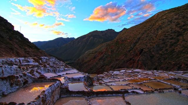 Maras and Moray salt mines
