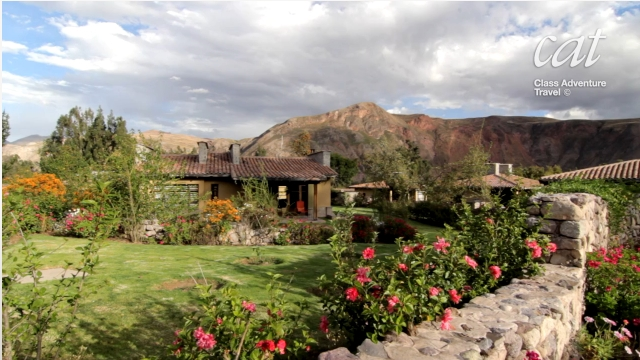 peaceful Sacred Valley lodge