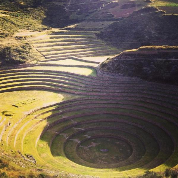 Sacred Valley ancient ruins