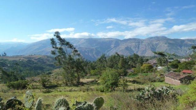 View from the Salkantay Trek