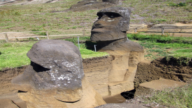 The hidden mysteries of the Moai Statues
