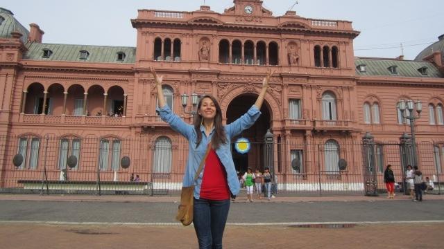 Laryssa Casa Rosada