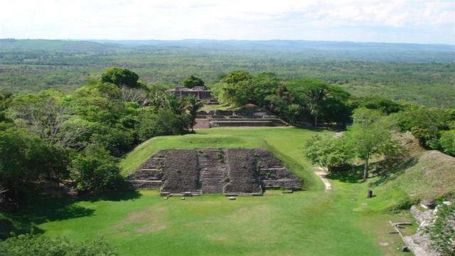Caana 'Sky Palace' in Caracol, Belize