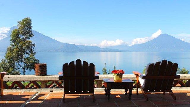 Lake Atitlan in Guatemala