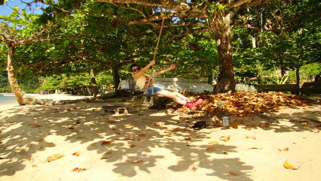 Montse in Ilha Grande