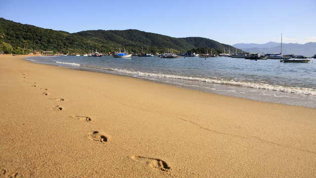 Beaches of Ilha Grande in Brazil