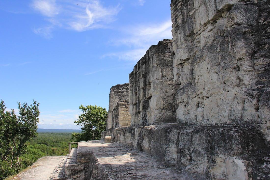 Yaxha Mayan Ruins