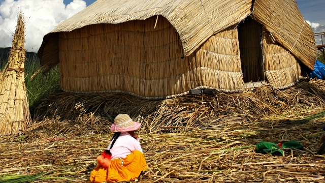 The Uros Tribe at Lake Titicaca
