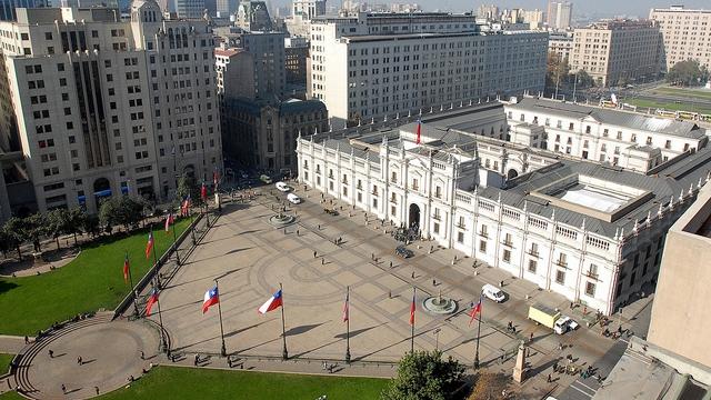 La Moneda Presidential Palace, Santiago de Chile