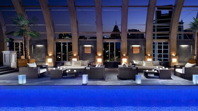 The Ritz-Carlton Rooftop Pool, Santiago