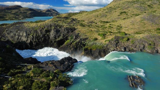 Torres del Paine Waterfalls