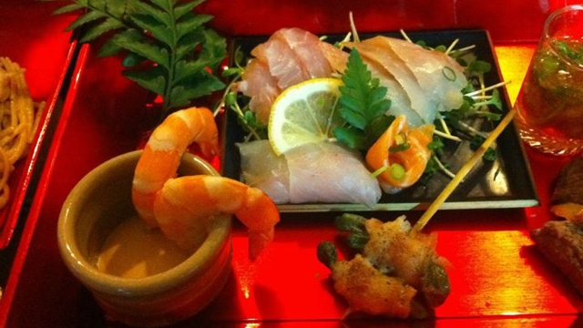 Explore Japanese food at Niji