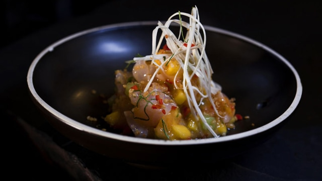 Sacha Ceviche at Osaka Restaurant
