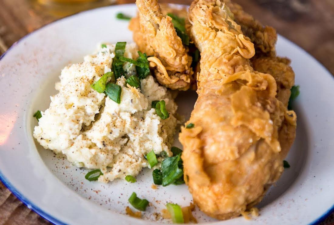 Fried Chicken at NOLA