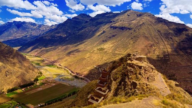 Sacred Valley landscape