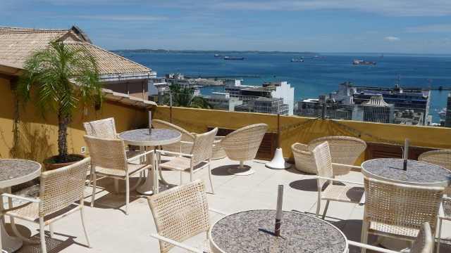 Panoramic bar Terrace, Casa do Amarelindo