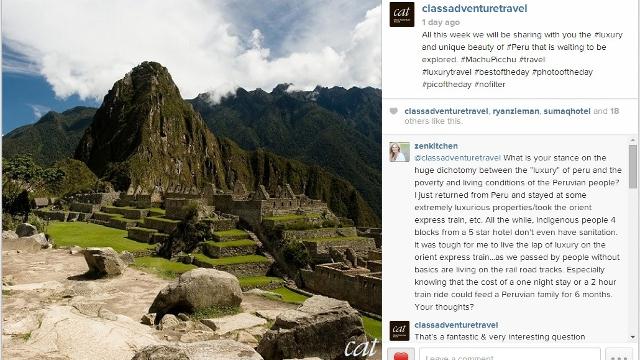 Class Adventure Travel Instagram