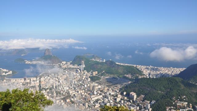 Corcovado Mountain, Rio de Janeiro