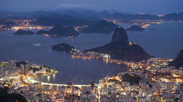Rio de Janeiro is spectacular from above and below