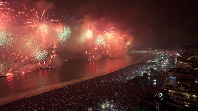 Experience the spectacular New Year's traditions in Brazil
