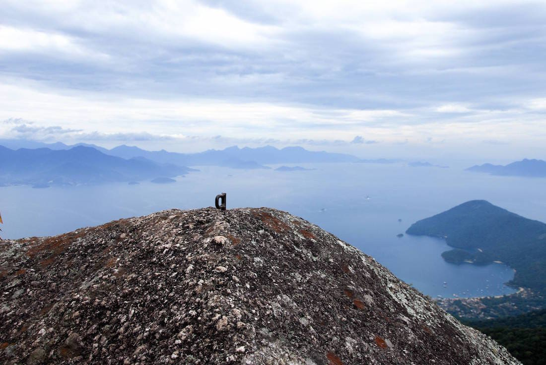 Pico do Papagaio, Ilha Grande