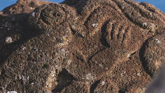 Birdman petroglyph, Easter Island