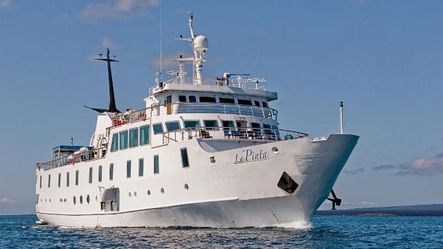La Pinta boat, Galapagos
