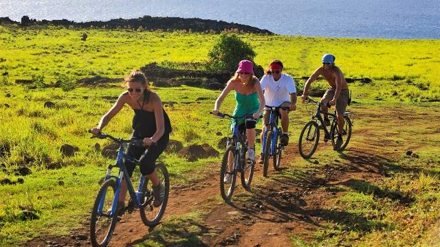 Easter Island bicycle