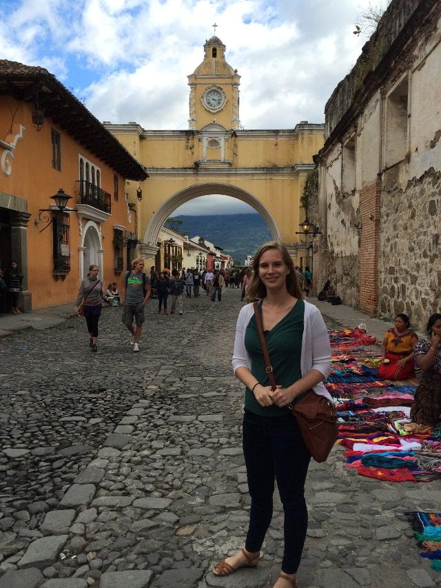 Santa Catalina Arch Antigua