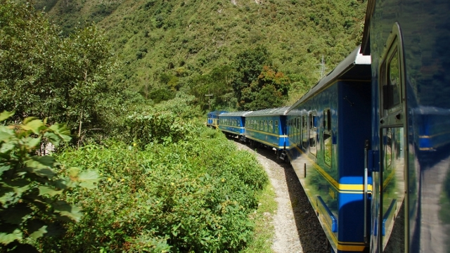 Vistadome Train, Machu Picchu