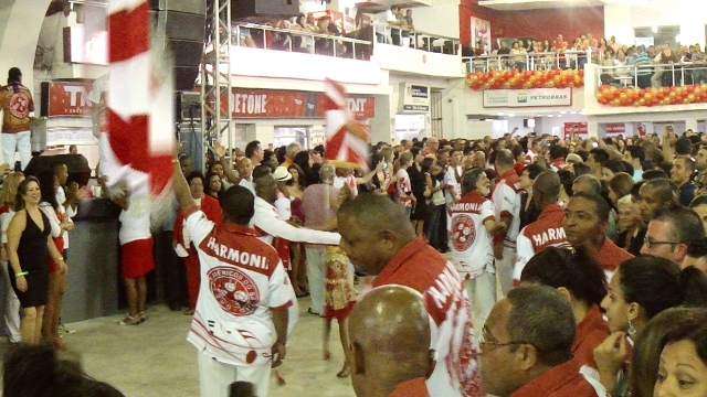 Rio Samba School Rehearsals