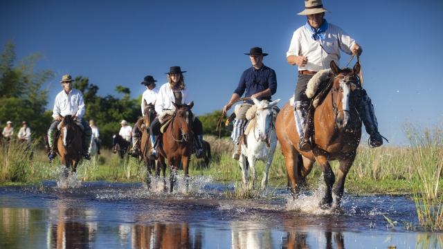 Horseback riding, Esteros del Ibera