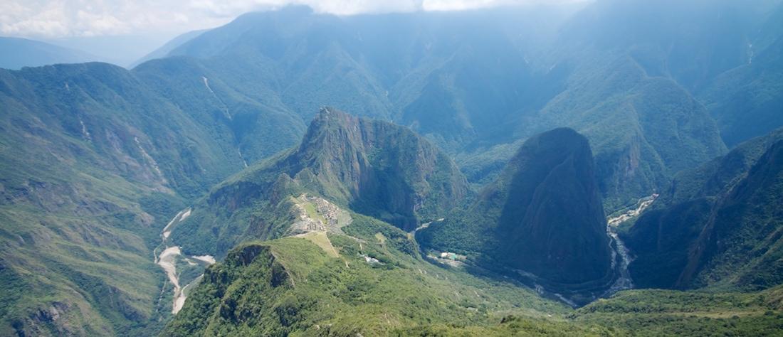 Machu Picchu Mountain, Machu Picchu