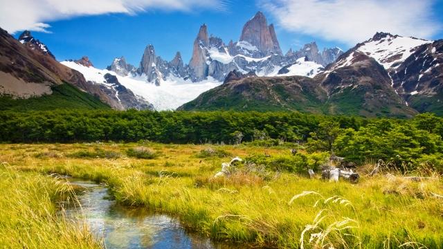 Mount Fitz Roy in El Chalten, Argentina