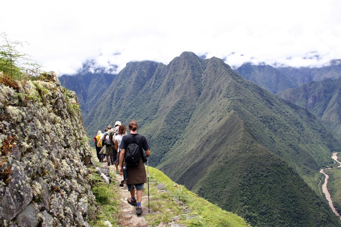Alternative trails to Machu Picchu