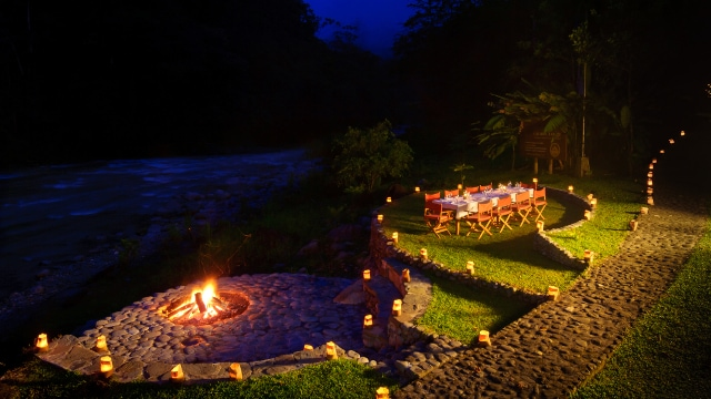 Pacuare Lodge Romantic Dinners