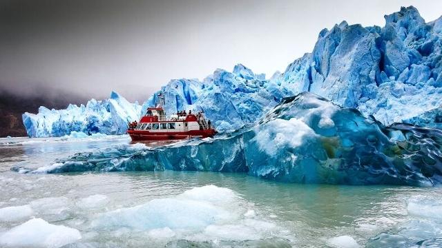 Grey Glacier, Torres del Paine