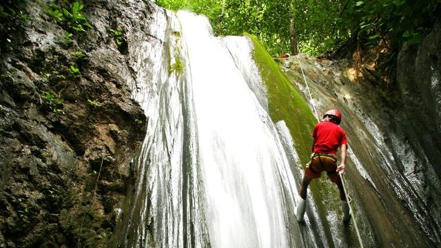 Waterfall-Rappelling El Remanso, Osa Peninsula
