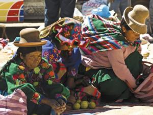 local ladies lake titicaca