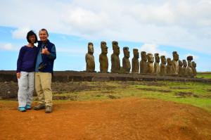 travelers easter island moai