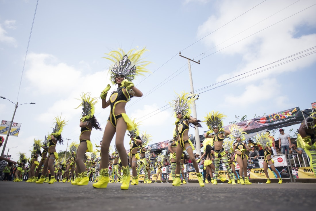 The Fantasia (Fantasy) Parade can be said to be the most colorful of all the events. RewritingtheMap/Emanuel Echeverri