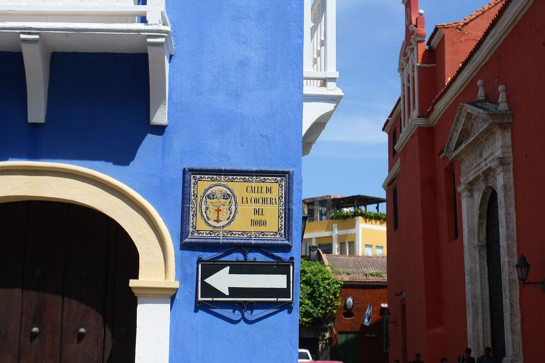 the charmingstreets ofCartagena