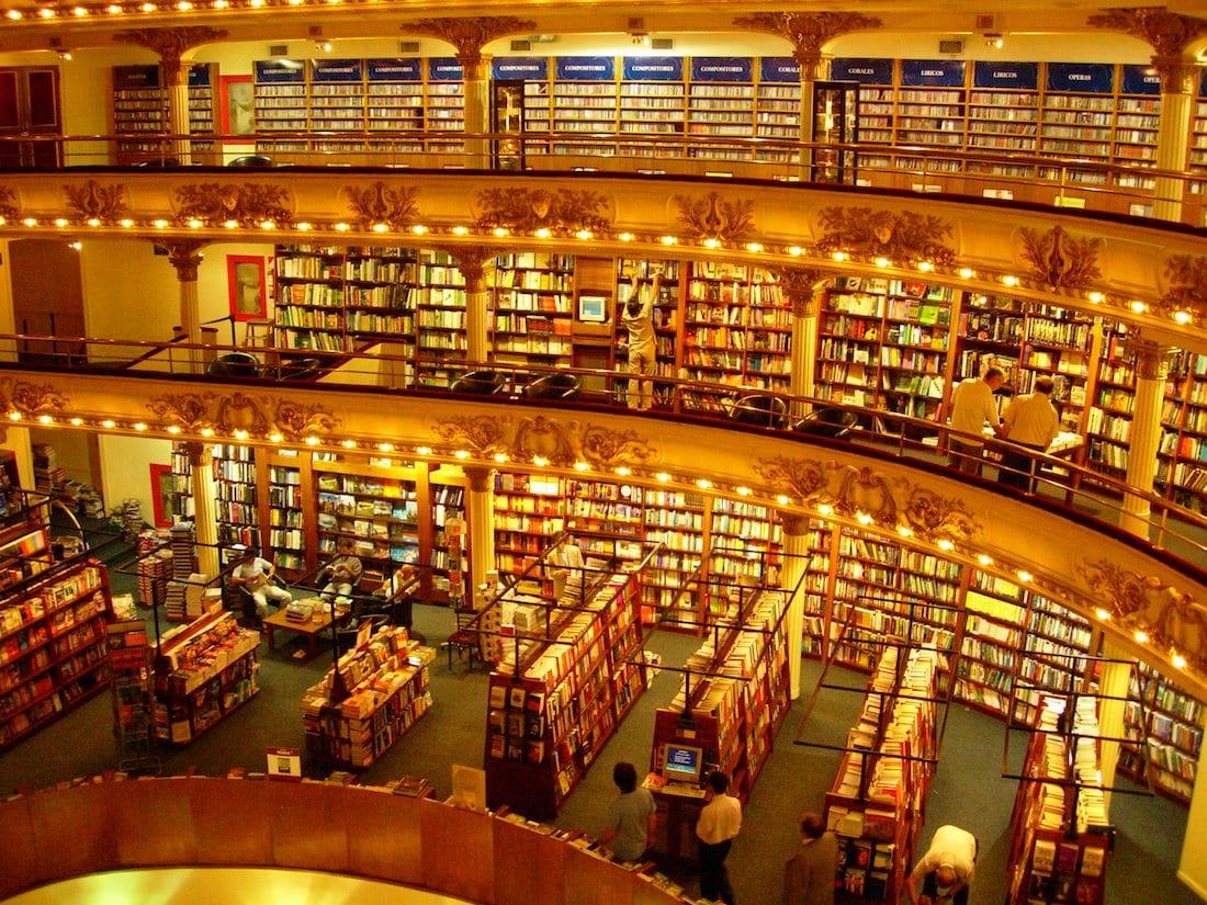 El Ateneo Grand Splendid bookstore in Buenos Aires