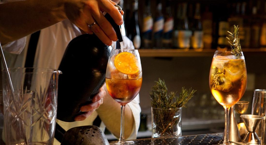 Ocho7Ocho bar in Buenos Aires