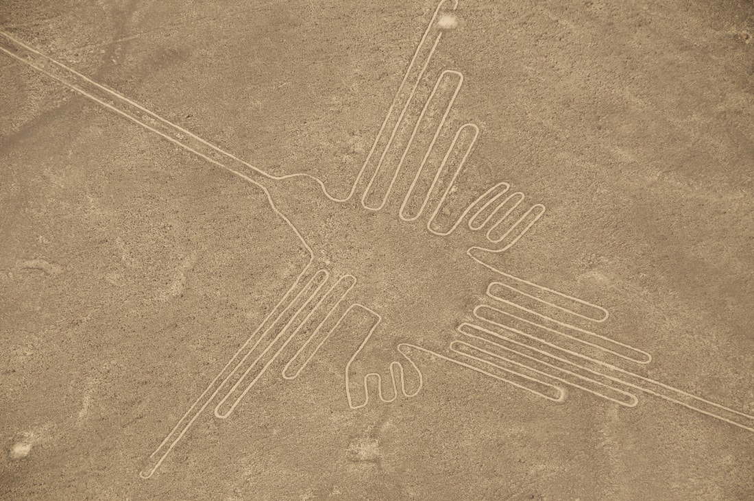 The unbelievable Nazca lines.