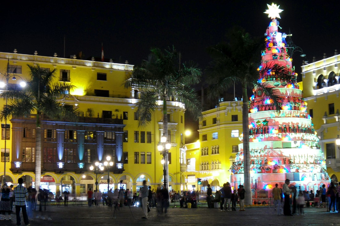 Christmas in Lima