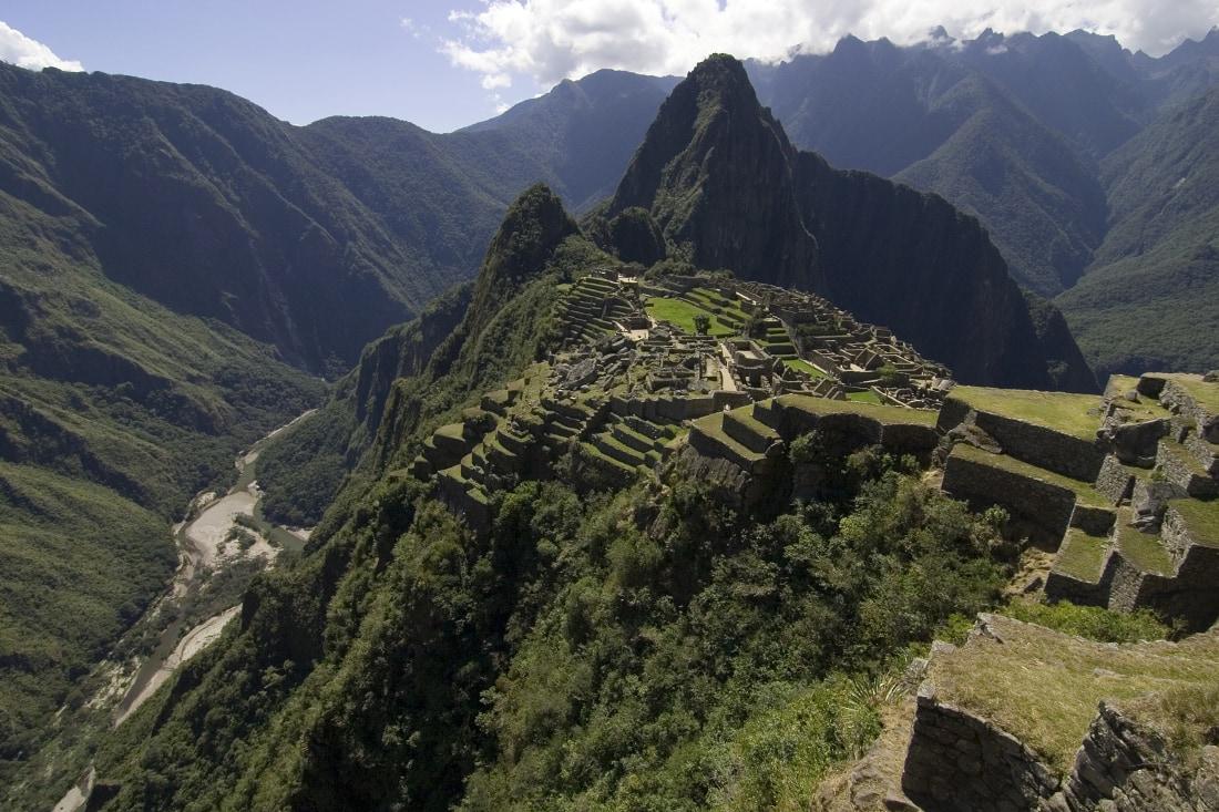 Christmas at Machu Picchu