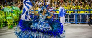 Carnival parade in Rio de Janeiro