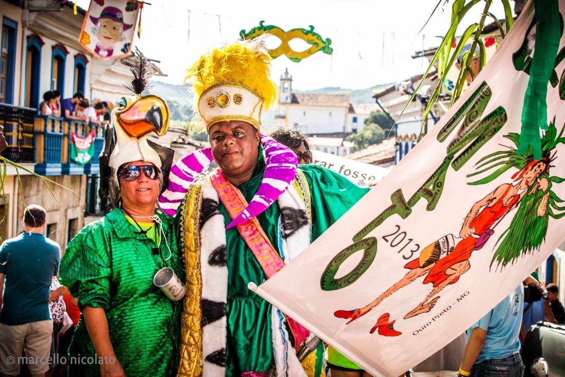 Carnival in Ouro Preto