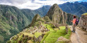 Machu Picchu hiker